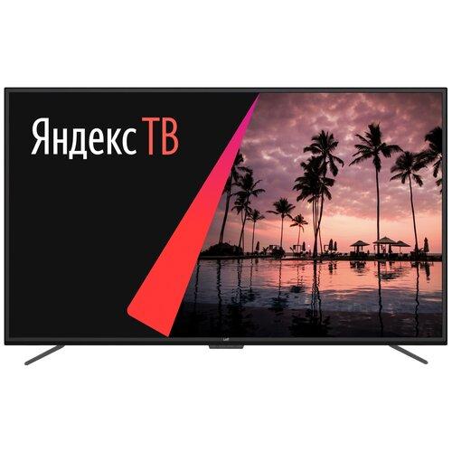 Фото - Телевизор Leff 50U620S 50 (2020) на платформе Яндекс.ТВ, черный телевизор leff 32h111t белый
