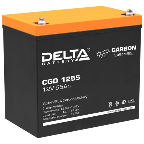 Аккумуляторная батарея DELTA Battery CGD 1255 55 А·ч