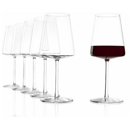 Набор из 6 бокалов для красного вина 517мл Stolzle Power Red Wine