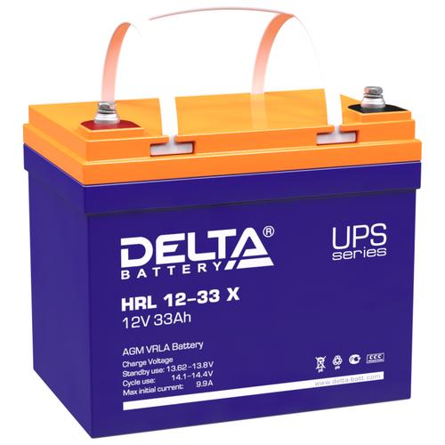 Фото - Аккумуляторная батарея DELTA Battery HRL 12-33 X 33 А·ч аккумуляторная батарея delta battery gel 12 33 33 а·ч