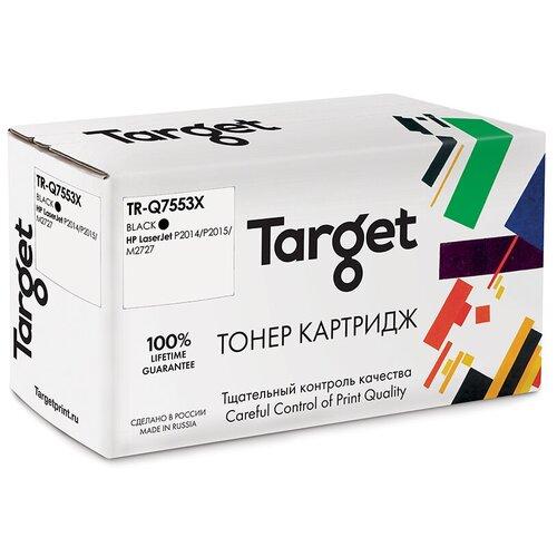 Фото - Картридж Target TR-Q7553X, совместимый картридж uniton premium q7553x совместимый