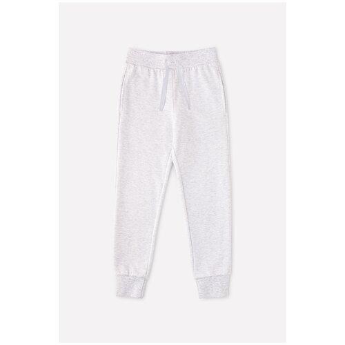 Фото - Брюки crockid размер 98, светло-серый меланж халат crockid размер 98 серый меланж