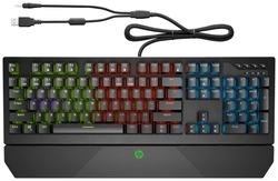 Игровая клавиатура HP Gaming Keyboard 800 5JS06AA Black USB