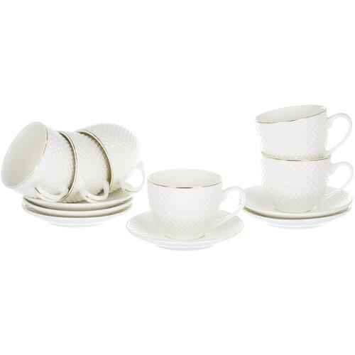 Чайный сервиз Balsford Грация Дария 101-01003, 6 персон, 12 предм.
