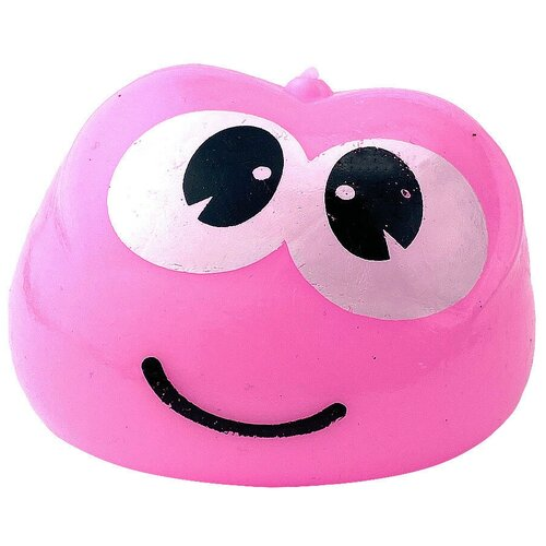 Игрушка-мялка Город Игр Пришелец розовый