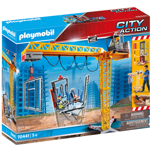 Конструктор Playmobil City Action 70441 Кран недорого