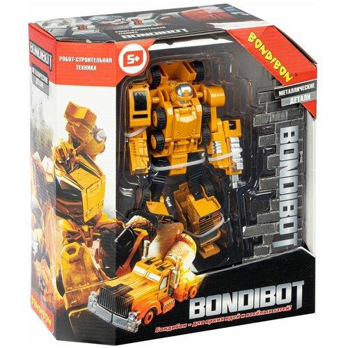 Трансформер 2в1 BONDIBOT робот-строительная техника (автомобильный кран)