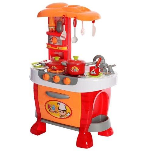 Кухня Xing Cheng 008-801/008-801A красный/оранжевый/серый/белый