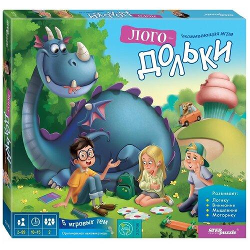 Фото - Настольная игра Step puzzle Лого-дольки настольная игра step puzzle лесное царство