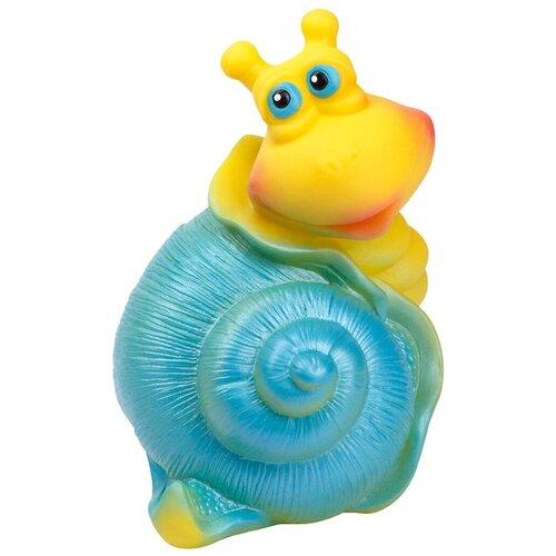Фото - Игрушка для ванной ОГОНЁК Улитка (С-825) желтый/голубой игрушка для ванной огонёк утенок с 355 желтый красный