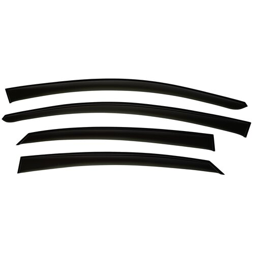 Фото - Дефлекторы окон Alvi-Style TT047 для KIA SPORTAGE III 2010-2015, ветровики накладные TT вкладыши в салонные ручки для kia sportage iii 2010 2015