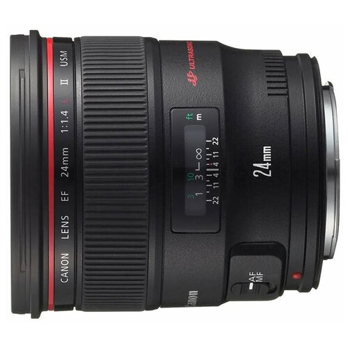 Объектив Canon EF 24mm f/1.4L II USM черный