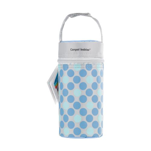Купить Canpol Babies Термосумка для детских бутылочек Retro (69/010), голубой, Бутылочки и ниблеры