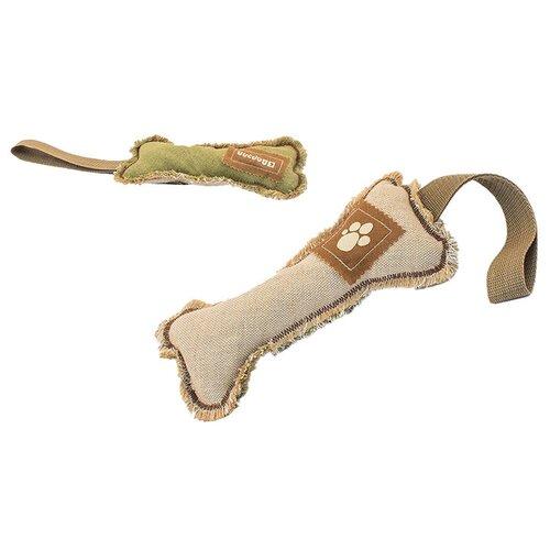 Игрушка для собак Дарэлл Тягалка-аппорт КОСТЬ (236) коричневый