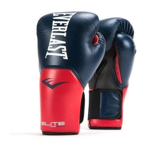 Перчатки тренировочные Everlast Elite ProStyle 10oz син/красн.