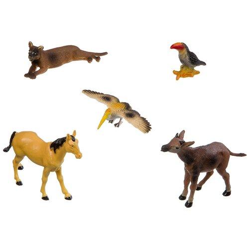 Фото - Фигурки BONDIBON Ребятам о зверятах - Дикие животные ВВ3135 фигурки bondibon ребятам о зверятах домашние животные вв1637