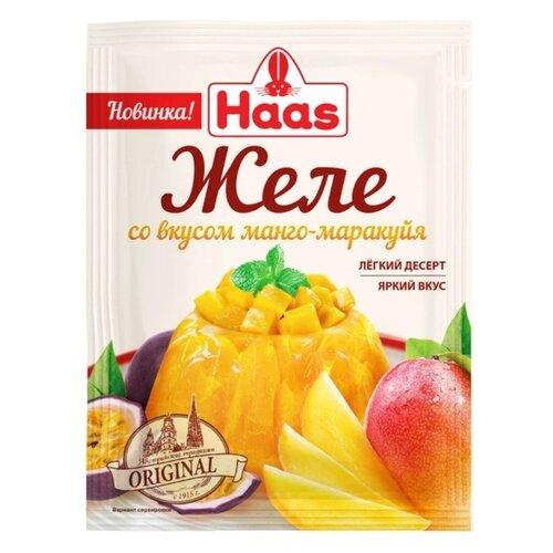 Смесь для желе Haas со вкусом Манго-маракуйя 50 г соломка хрустящая со вкусом аджики 50 г