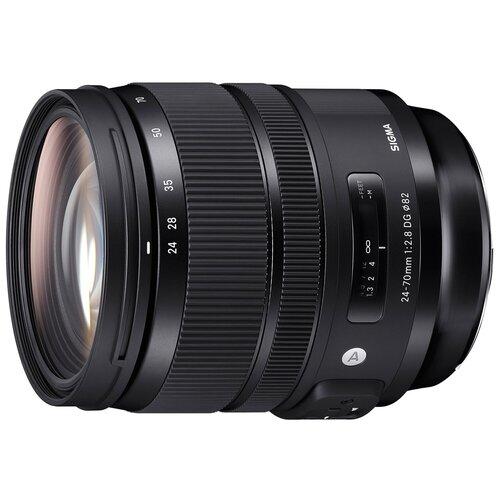 Фото - Объектив Sigma AF 24-70mm f/2.8 DG OS HSM Art Nikon F объектив sigma 70mm f 2 8 dg macro art sony e