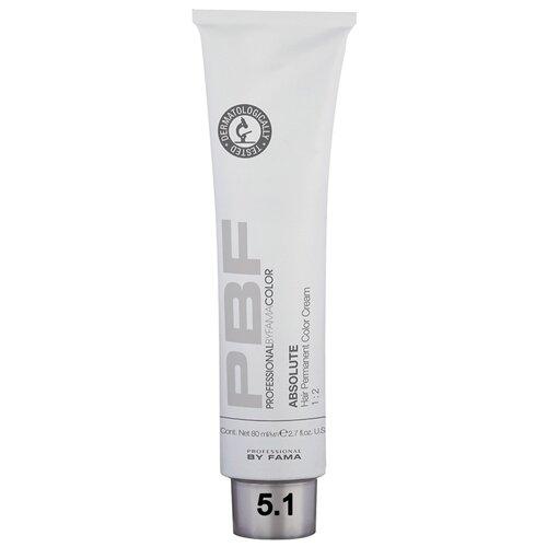 Фото - Professional by Fama Color Absolute крем-краска для волос на основе масел, 5.1 light ash chestnut, 80 мл richenna крем краска для волос с хной 6n light chestnut