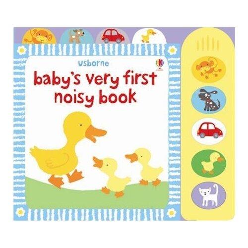 mar pavón a very very noisy tractor Baby's Very First Noisy Book