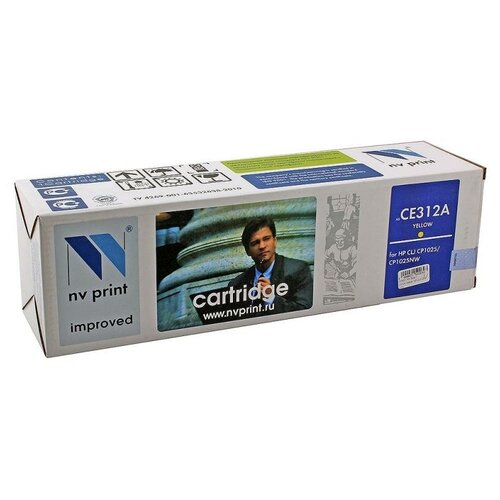 Фото - Картридж NV Print CE312A для HP, совместимый картридж nv print ce412a для hp совместимый