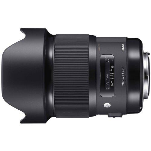 Фото - Объектив Sigma 20mm f/1.4 DG HSM Art Canon EF объектив sigma 20mm f 1 4 dg hsm art sony e