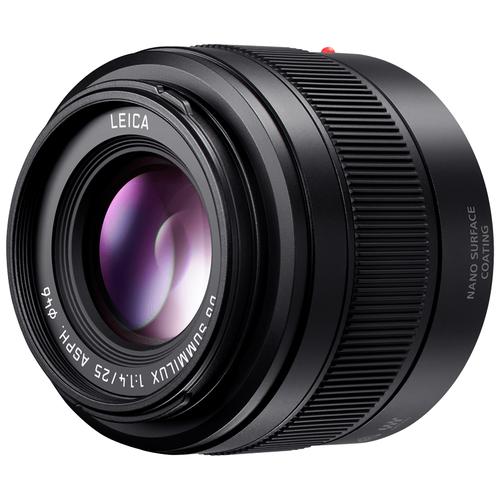 Фото - Объектив Panasonic 25mm f/1.4 ASPH Lumix G Leica DG Summilux (H-XA025E) черный объектив panasonic lumix h hs043e k 42 5mm f 1 7 g aspherical power o i s h hs043e черный