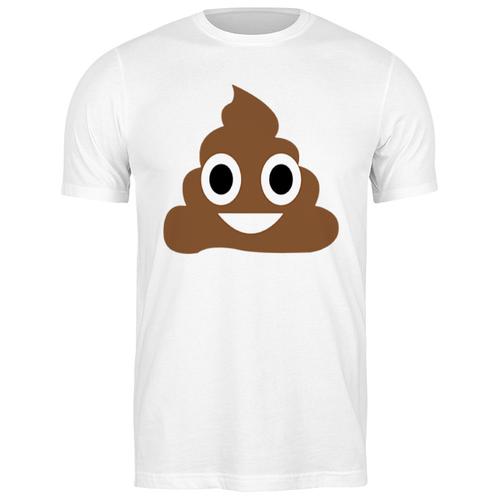 Футболка классическая какаха #2219262 (цвет: БЕЛЫЙ, пол: МУЖ, качество: ЭКОНОМ, размер: L) лонгслив printio какаха poop