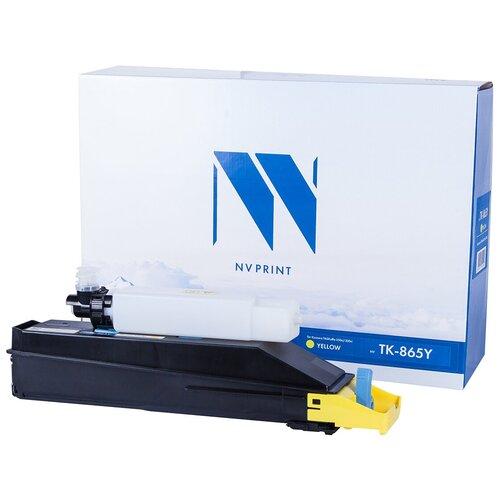 Фото - Картридж NV Print TK-865 Yellow для Kyocera, совместимый картридж nv print tk 895 yellow для kyocera совместимый