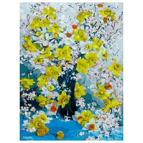 Картина по номерам 30х40 см Белоснежка 384-AS Нарциссы белоснежка картина по номерам листок 30х40 см 046 as