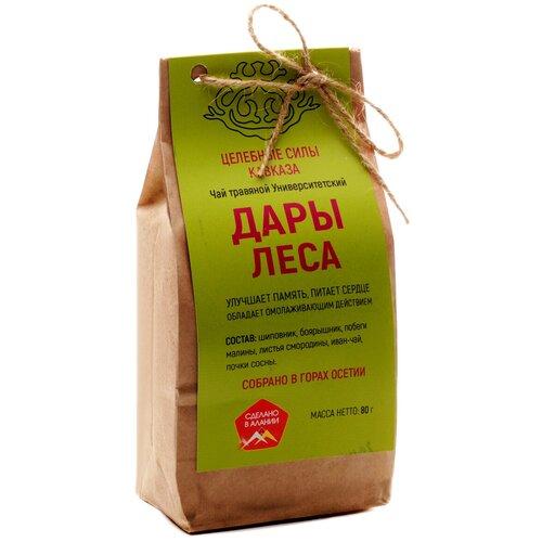 Чай травяной Целебные силы Кавказа Дары леса, 80 г