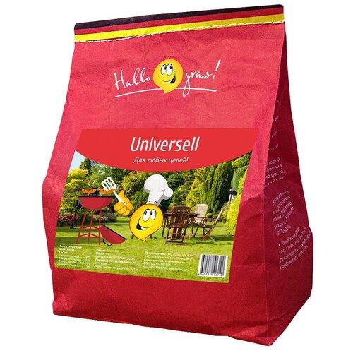 Смесь семян для газона Hallo Gras! Universell, 1 кг недорого