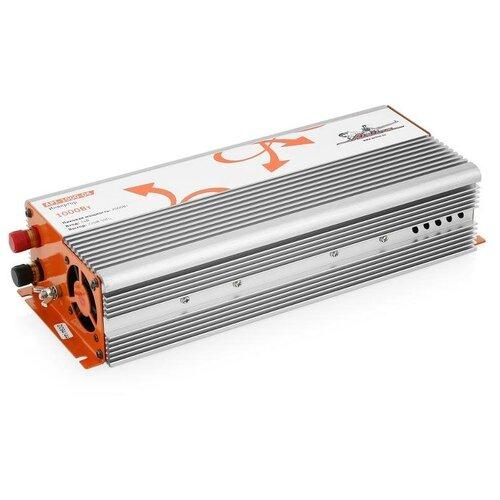 Фото - Инвертор Airline API-1000-06 серебристый/оранжевый автомобильный инвертор airline api 1000 07