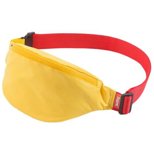Сумка поясная Яндекс (размер L), желтый сумка паттерн яндекс белый черный
