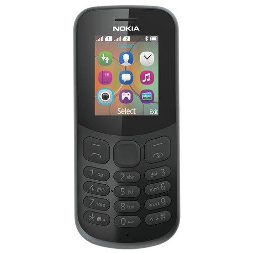 Телефон Nokia 130 Dual sim (2017) черный