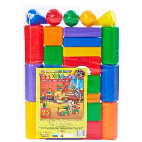 Фото - Кубики Строим вместе счастливое детство Стена-2 5246 кубики строим вместе счастливое детство набор 2 5253