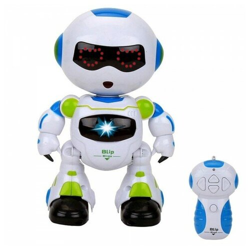 Фото - CS toys Радиоуправляемый интерактивный робот IRobot - 99333-1 радиоуправляемые игрушки 1 toy интерактивный радиоуправляемый щенок робот дружок