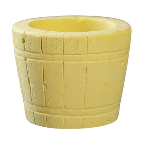 Кашпо Хорошие сувениры Ведерко 8 х 8 х 7 см желтый