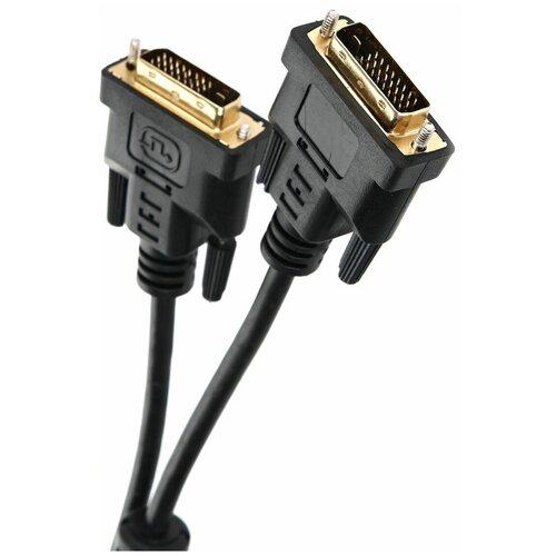 Кабель TV-COM DVI-D - DVI-D (CG441D) 1.8 м, черный