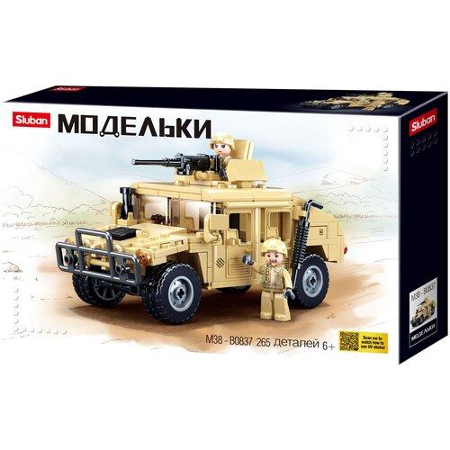 Конструктор SLUBAN Модельки M38-B0837 Штурмовая машина