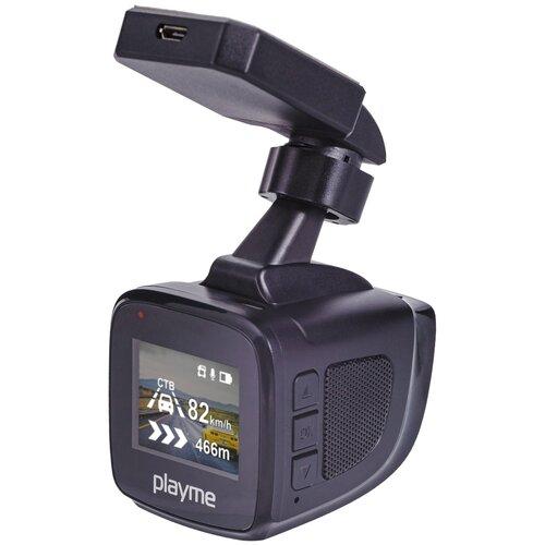 Видеорегистратор Playme KVANT, GPS, черный по цене 7 490