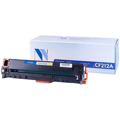 Фото - Картридж NV Print CF212A для HP, совместимый картридж nv print ce742a для hp совместимый