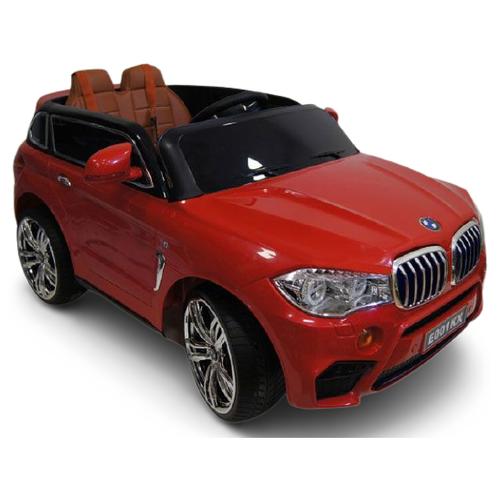 Купить RiverToys Автомобиль BMW X5 E002KX, вишневый глянец, Электромобили