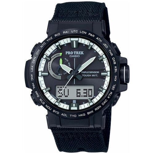 Японские наручные часы Casio PRW-60YBM-1AER мужские кварцевые