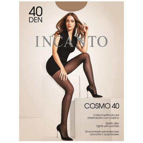 Фото - Колготки Incanto Cosmo, 40 den, размер 2-S, daino (бежевый) колготки incanto poudre 40 den размер 2 s daino бежевый