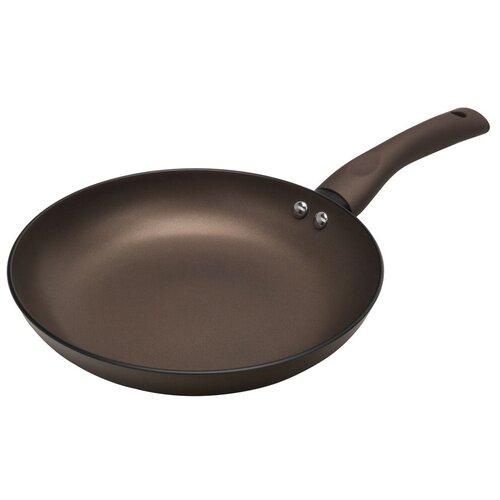 Сковорода Polaris Genio-28F, 28 см, коричневый сковорода polaris canto 28f 28 см серый