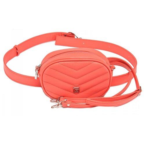 сумка на пояс женская dimanche регби цвет черный 231 1f Женская сумка на пояс экокожа(искусственная кожа) Gera 521446