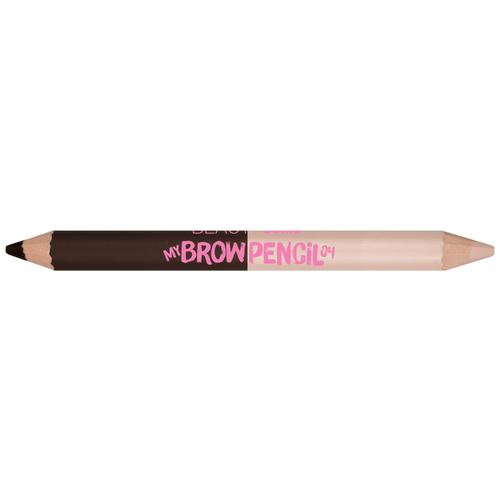 BEAUTY BOMB карандаш+хайлайтер My Brow Pencil, оттенок 04 beauty bomb консилер стик двухцветный my bomb concealer stick duo colors оттенок 01
