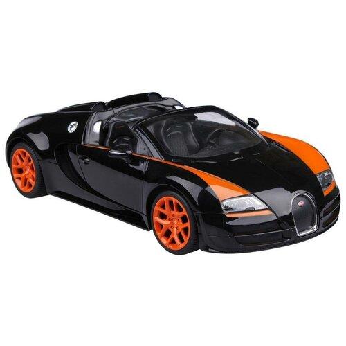 Легковой автомобиль Rastar Bugatti Grand Sport Vitesse (70400) 1:14 33 см черный легковой автомобиль rastar land rover discovery 3 21900 1 14 черный