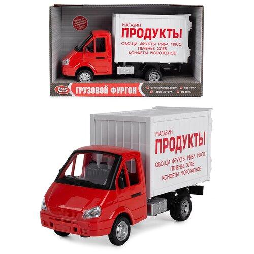 Детская игрушечная машинка Serinity Toys, модель Грузовой фургон